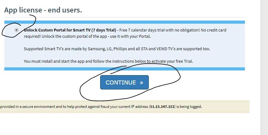 SMART STB IPTV smartstb5